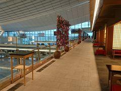 朝6時ごろの羽田空港です。空いていました。