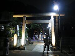 5か所目の甘縄明神社にきました。 奈良時代に建てられた鎌倉で一番古い神社だそうです。