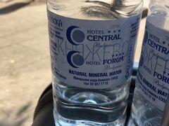 ホテルのお水のボトル、お世話になりました~~!! これにスーパーで買ったお水を詰め替えて持ち歩いてました。 ブルガリアはお水が安い!!! あと、そういえば炭酸水見かけなかったなー。  そして、ホテルに荷物を取りに行く前に、駅で空港までの切符を買ったんです。 大きくて重い荷物を持って切符を買うのは大変だろうと。 ナイスアイデア!  しかし! いざ前もって買った切符で改札を通ろうとしたら、ピンポーンって言って切符が通らない! あれ??なんで?? こっちじゃないほうの地下鉄の口からなら乗れるかな。。とか思って別の入り口から入ろうにも、入れない! これだと入れないと窓口で切符を見せると、買ったほうの入口へ行けと言われる。 (こういう部分が、ブルガリア、多かった。。。同じ地下鉄なんだから対応してよ~~)  というわけで、切符を買ったほうの窓口で切符を見せて通れないと訴えるも、首を振ってシッシッというような態度。 なんでだよー!!!!と全く腑に落ちないところにオットが「なんで?」と怒り口調で言うと・・・  フンッとメモ帳を指さす、窓口のおばちゃん。  30mins  要するに、切符を買って30分以内に改札通れよと。  知 ら ん が な ?  そんなこと切符売り場にも書いてなかったし(後で確認したけど、たぶん書いてない。ブルガリア表記のほうには書いてあるかもだけど)、きっとよくあることなんだろうけど(30minsの文字は何度も使いまわしてるようだった)それに対する注意の張り紙などもなし。  最後の最後までやられたよ・・・・  結局、荷物分の切符も併せて一人2枚の切符が必要なのでまた4枚の切符を買うことに。。。旅の最後って現金を使い切るようにしてるので、かなりのピンチです!