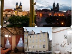 <プラハ ホテル> HOTEL LIPPERT ホテル リッペルト ★4  かなり早めにとったのでピーク時の週末で1泊100ユーロ程。 とても良心的な価格。曜日を選ぶともっと安かった。 なんといっても素晴らしいのは窓からの景色。 自分たちの部屋は左の写真で言う、日本式の4階の左側から1つ目と2つ目の窓の部屋。 ホテルサイトには眺望に関して、写真もコメントもなかったので全く期待していなかったのに、こちらが驚いてしまうほどの眺望が待っていた。  ロマンチックな部屋ではないので、新婚旅行には向かないが、家族や友人、個人旅行には絶対おすすめだ。朝食も○だったし、メールの返信も早くとても親切。 1階にチェコ料理のレストランがあり、宿泊者は10%OFFで食べられる。