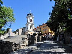 この坂の上にも教会があります。