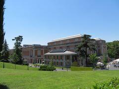 プラド美術館(Museo del Prado) 建物の外観は思っていたより近代的です。