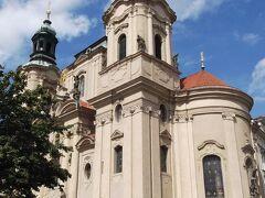 旧市街広場の聖ミクラーシュ教会