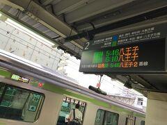 まずは東神奈川から横浜線八王子行にて終点八王子駅まで向かいまーす。 最寄りの私鉄を始発で発ったので非常に眠い…。  東神奈川は始発駅なので余裕で着席。最後まで乗車率は7割程度でした。 ロングシートですが1時間ほどだし大人しく寝るのが吉…(-ω-)zzz  【東神奈川5:46→八王子6:44 東神奈川駅始発】