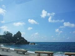 まずは大谷・若山方面の作品を鑑賞することに。 途中、風光明媚な海岸線に癒されますた(*''ω''*)