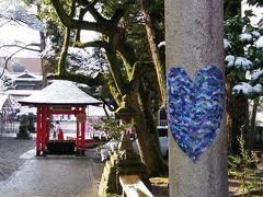 バスで21世紀美術館へ向かいバス停降りたところで、神社を発見。金沢最古の宮だそうです。