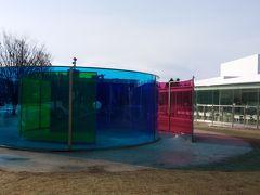 お参りの後は、金沢21世紀美術館。