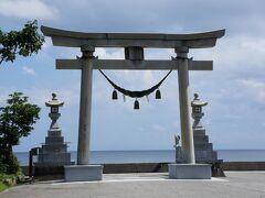 途中で須須神社でお参り。
