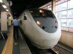 新大阪駅から約2時間40分、特急サンダーバードで金沢駅にやってきました。