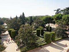 サバティーニ庭園。 上から眺めただけ。