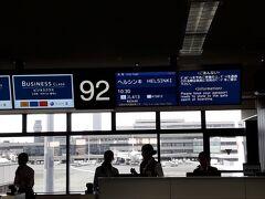 ヘルシンキ→ウイーン→プラハ→パリの予定で夏休み。  10:30のヘルシンキ行きJAL便に搭乗。