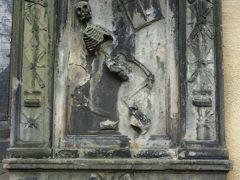 深夜に心霊ツアーが行われるという、ハリーポッターの悪い魔法使いを作者が思いついた教会にも行きました。すご~く雰囲気のある(こわい)場所でしたー。深夜は絶対無理!