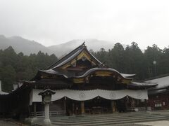 弥彦神社(拝殿)