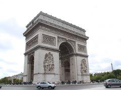 そして、地下鉄のCharles de Gaulle Etoile駅から地上にでると、ババーン!あの凱旋門が!  をーーーっ!