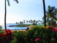 『マリオット・コオリナ・ビーチクラブ』 綺麗なビーチです。  ♪雑誌やTVで紹介されたビーチ&グルメ巡り『☆オアフ西回り編』 滞在中に訪れたを順番に並べてみました。