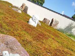 昨年も訪れた「香林寺」  昨年は無かった苔に囲まれた亀やお地蔵さん。 苔は住職自ら植え替えたそうです。