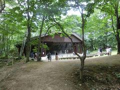 大町温泉の森林劇場に来ました ACT/マーリア・ヴィルッカラ