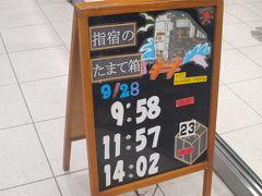 鹿児島中央駅から指宿枕崎線で指宿へ向かう。 今回は普通列車を利用する。 指宿のたまて箱は平日でも相変わらず人気があるようだ。