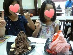 味香園。 台湾のとも韓国のともまた違う感じでおいしい!  子供達幸せの絶頂(^^)