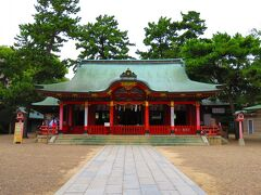 長田神社でお参り  神戸では生田神社や湊川神社に並ぶ神社ですね