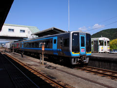 高知駅からおよそ1時間40分で中村駅に到着。 中村駅で降りるのは初めてだ。 この先、宿毛駅まで鉄路は続いているが、今回はここまで。