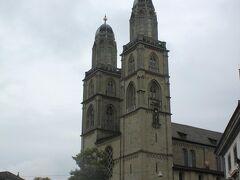 グロスミュンスター(大聖堂、Gross-munster)へ向います。