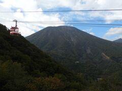 男体山。標高2,486m。