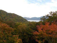 120号線は中禅寺湖を離れ、高度を上げていく。