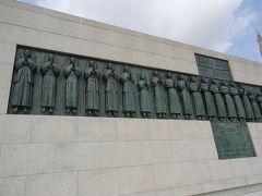殉教の碑. 記念館も見学しました