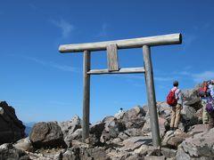 那須岳神社の鳥居です。 青空がきれい!!