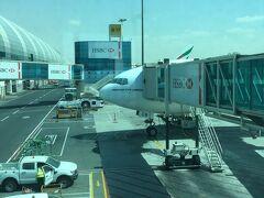 ドバイでの乗り継ぎ、ちょっと心配してました。ドバイには、何十回と来たことがあったのですが、いつもターミナル1しか利用した事がなく、初めてのターミナル3での乗り継ぎ。ターミナル3って超巨大なんです!が、乗り継ぎ案内みたら、イスタンブール行きは、香港から乗ってきた同じ飛行機、同じゲート!