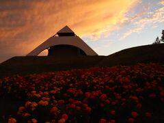 北西の丘展望公園の夕焼けも綺麗でした