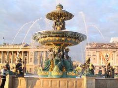パリに戻り、ホテルにチェックインし、休憩するや否や、パリの夜景見学に出掛けた。  まずは、凱旋門が望める、コンコルド広場へ足を向けた。