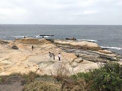 そして千畳敷。白良浜は砂浜だったのに、ちょっと南に動いたここは断崖絶壁です。面白いですね。