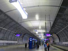 まずは電車でヘルシンキ市内へ! バスでも行けるけど、電車の方が安いし、世界の電車に乗ってみたくて(笑)。
