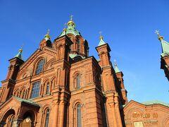 ウスペンスキ寺院 北欧最大規模を誇る正教会