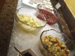 朝のブッフェ 品数多いし、美味しいし、何故か味噌汁なんかもありました(笑)
