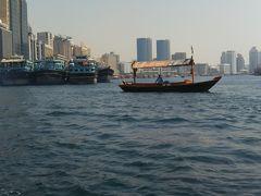 スパイススークを出て、アブラ(対岸に渡る船)に乗ります。 観光船も出ているので、間違わないように…(^^;)