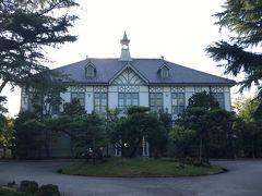 奈良女子大の学舎。急に洋風ですが。。。たまたま近くに用があったので寄ってみました。