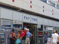FAT TIREと言う、レンタル自転車の貸し出しやセグウェイツアー等も行っているツーリストオフィスがあります。