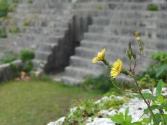 その平良港のすぐ向かいにある仲宗根豊見親の墓。昔々の宮古の有力者です。そこの説明書きによると16世紀ごろ。