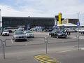 ●カウナス国際空港  現在、ビルニュスの空港の滑走路改修工事中で、空港自体が使えないため、カウナスに振り替えられています。 なので、今回、旅の最後をカウナスにして、ここからヘルシンキに飛びます。通常ならありえないことです。