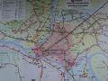 ●バス路線図@カウナス国際空港  バスでカウナスの街中から空港へ移動してきました。