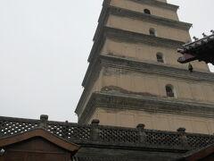 大雁塔です。歩いて登れる!!7階建てです。  頑張って登りましょ。