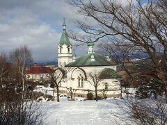 国の重要文化財に指定されているハリストス正教会