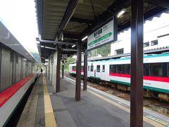 【その4】からのつづき  余目から、陸羽西線と陸羽東線を乗り継いで、鳴子温泉駅まで来た。 実際には乗り継ぎではなく、時刻表には表記のない直通列車でしたが。