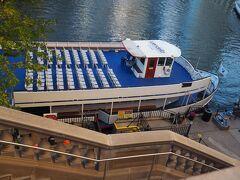 ミシガン大通橋の袂にあるウェンデラ乗り場も確認しておきます。