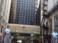 どうしても行っておきたかったCBOT(シカゴ商品取引所)。 シカゴ・マーカンタイル取引所と統合し、世界最大の金融先物取引所になりました。 見る場所が違ったのか色々紹介されている写真と違う?意外にしょぼい。