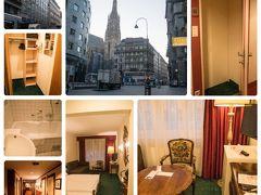 <ウィーン ホテル> HOTEL ROYAL ★4 <ホテル ロイヤル> こちらはExpediaのセール時かつ1ユーロ120円の時に変更可能の前払いで支払っておいた。 朝食付き3泊¥41,585-(@¥13,053×3) この好立地でのウィーンにしてはお得感は高いと思われる キッチン付きのアパートメントホテルとかなり迷ったが、ビュッフェの朝食付きで立地のいいお得感を選択した。 この料金ならまた利用したい。  到着が21時前と遅いのでオーバーブッキング等で他のホテルに回されないよう、予約のコンファームやバスタブ付希望、到着時間の連絡等、事前に何度かホテルとメールやり取りをしておいた。一番初めに間違えて同系列の他のホテルにメールを送ってしまったが、快く対応してくれた。どちらもリプライは早く親切だった。