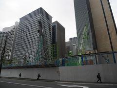 そしてすぐ隣には東京銀行協会ビルが・・・あっ!無い!! 残念ながら取り壊されてしまったようでした。